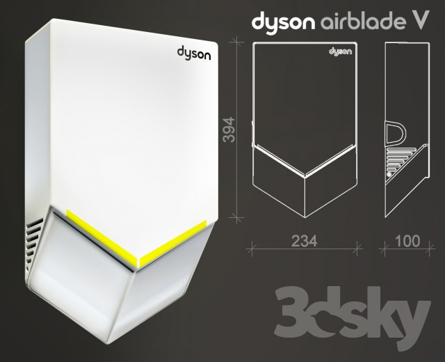 hand dryer dyson airblade v - Dyson Airblade V
