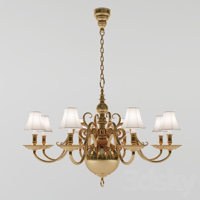 Chandelier Lillianne Single Tier Circa Lighting Designer Ralph Lauren Home
