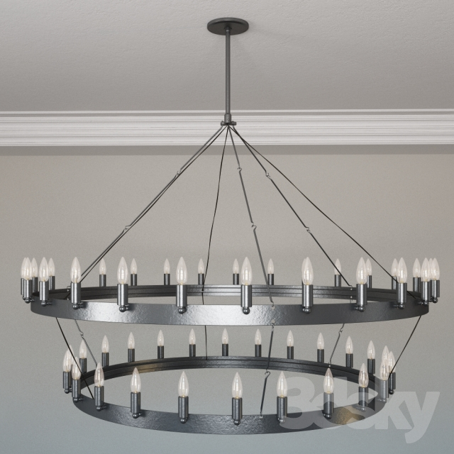 Restoration Hardware Camino Two Tier Chandelier Large