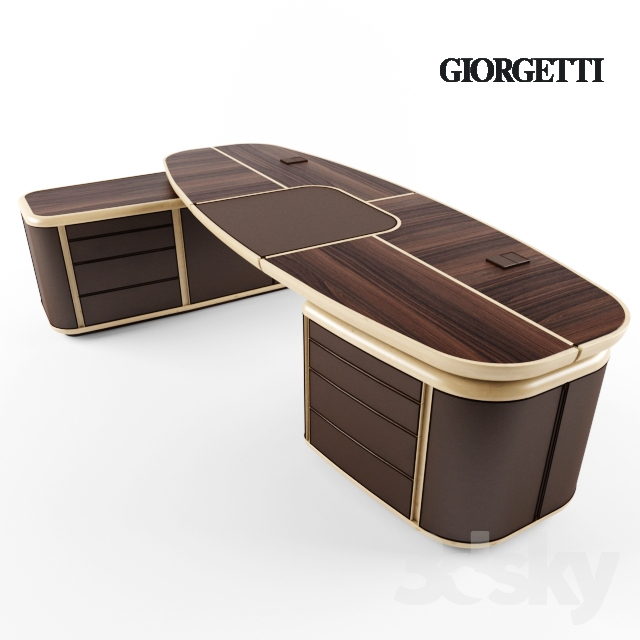 3d Models Office Furniture Giorgetti Spa Tycoon