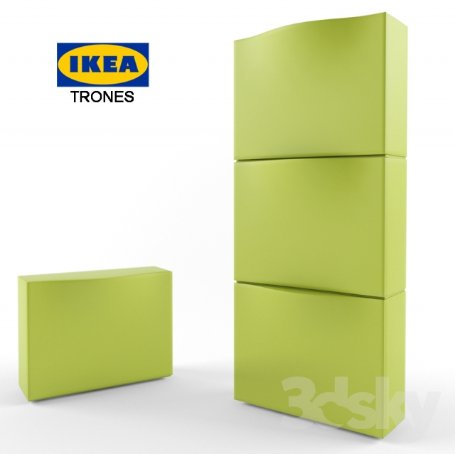 3d models Bathroom furniture ikea trones