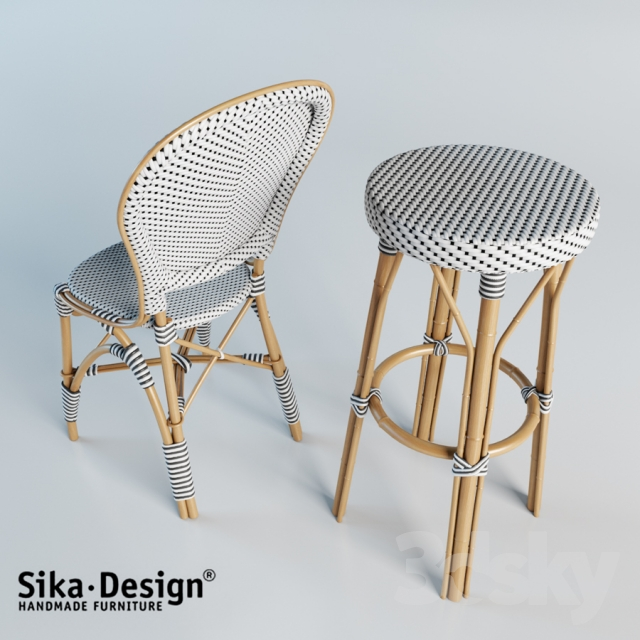 3d Models Chair Sika Design Isabell