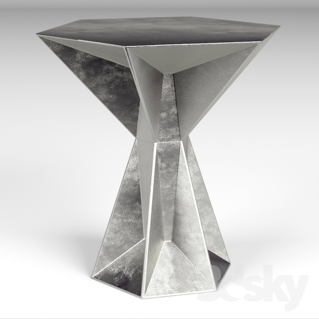 Side Table Tom.3d Models Table Tom Dixon Gem Side Table