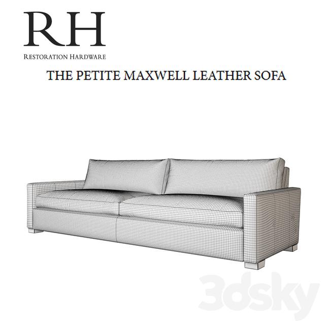 3d Models: Sofa   Sofa RH Petite Maxwell