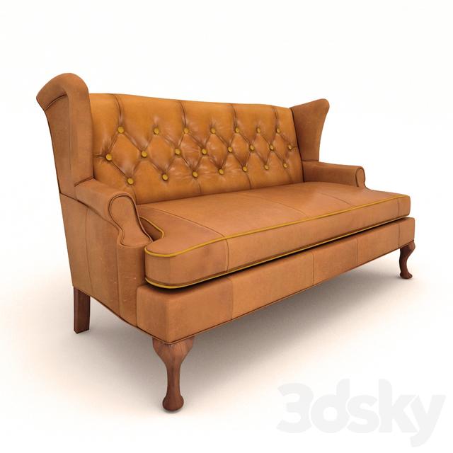 Howell Wingback Sofa Sofa Menzilperde Net