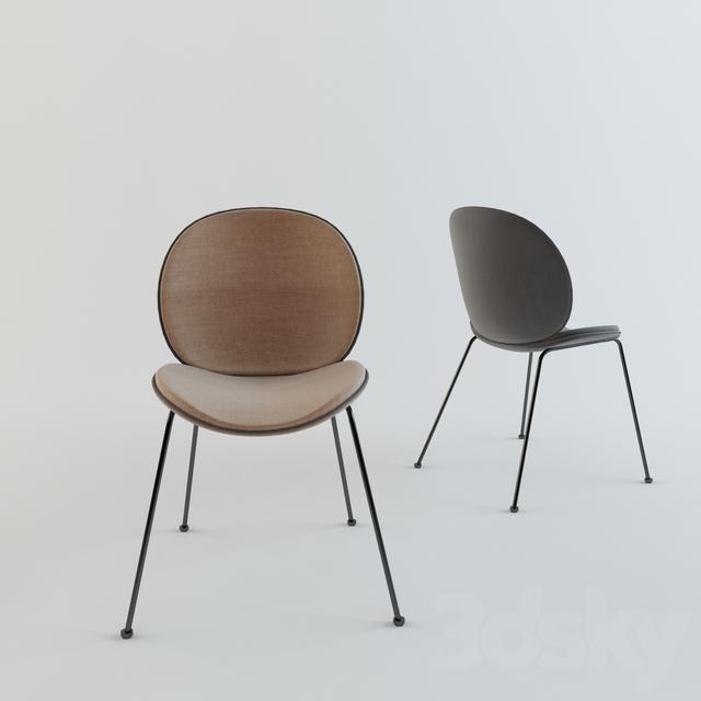 3d models chair gubi beetle chair. Black Bedroom Furniture Sets. Home Design Ideas