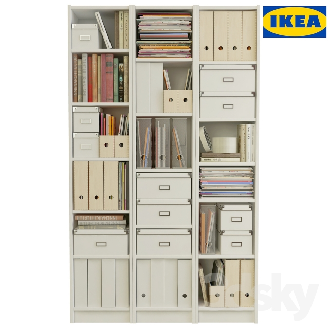 3d models wardrobe display cabinets profi ikea. Black Bedroom Furniture Sets. Home Design Ideas
