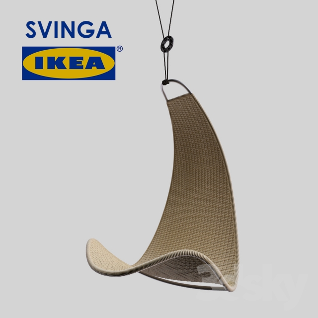 IKEA SVINGA  sc 1 st  3DSky & 3d models: Arm chair - IKEA SVINGA