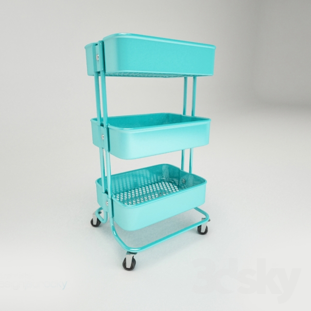 3d Models Other Decorative Objects Ikea Raskog