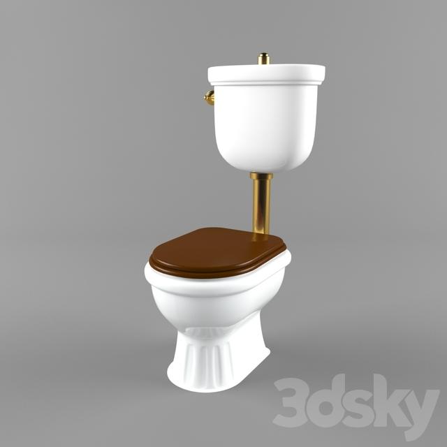 Retro Wc Pot.3d Models Toilet And Bidet Toilet Kerasan Retro