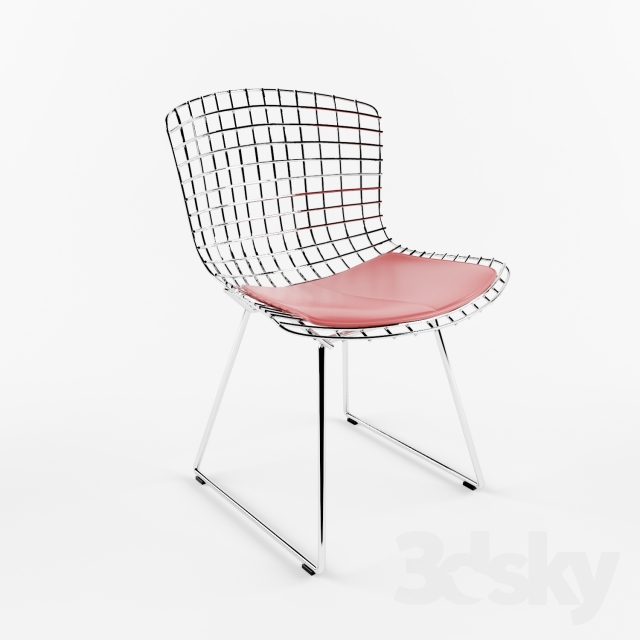 3d models chair knoll bertoia side chair