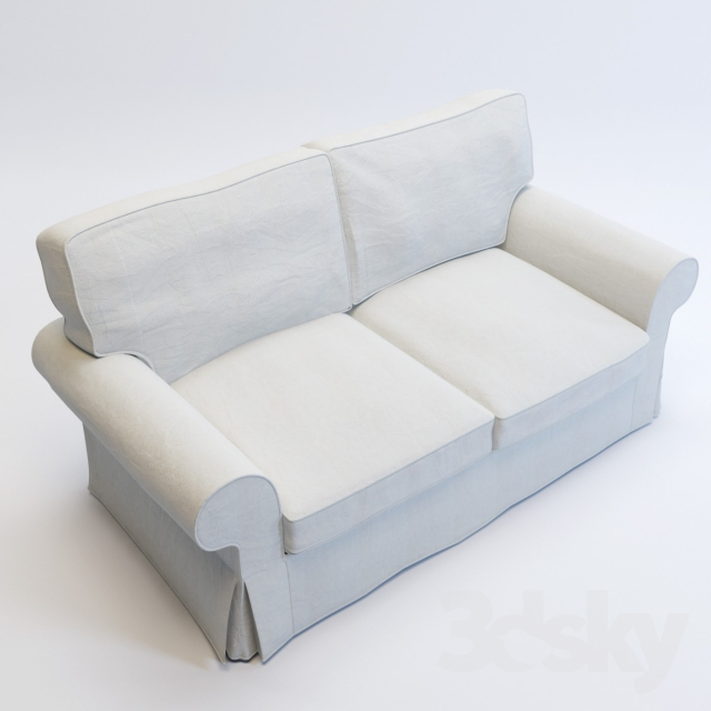 3d Models Sofa Ikea Ektorp Loveseat Sofa
