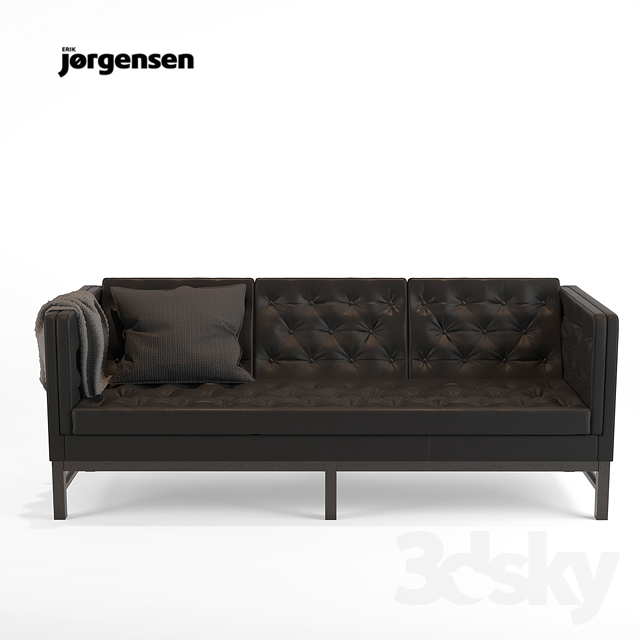 3d models sofa erik jorgensen ej 315 sofa 3set. Black Bedroom Furniture Sets. Home Design Ideas