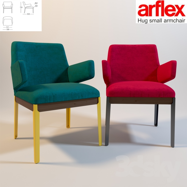 3d models chair hug small side chair for Small side chair