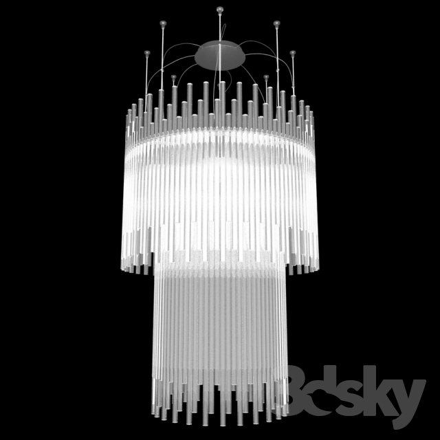 3d models ceiling light chandelier vistosi diadema sp 60 chandelier vistosi diadema sp 60 aloadofball Image collections