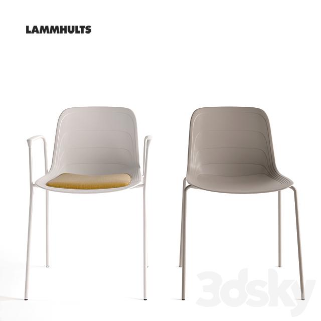 3d models Chair Lammhults Grade