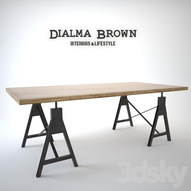 3d models: Table - dialma brown TAVOLI