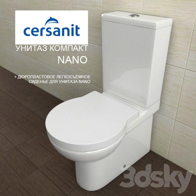 3d Models Toilet And Bidet Toilet Bowls Compact
