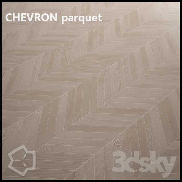3d models wood chevron parquet beechwood multitexture. Black Bedroom Furniture Sets. Home Design Ideas
