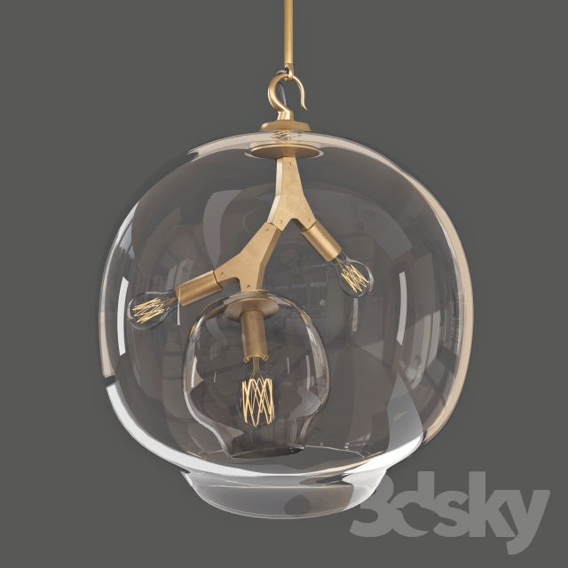 3d Models Ceiling Light Terrarium Lindsey Adelman
