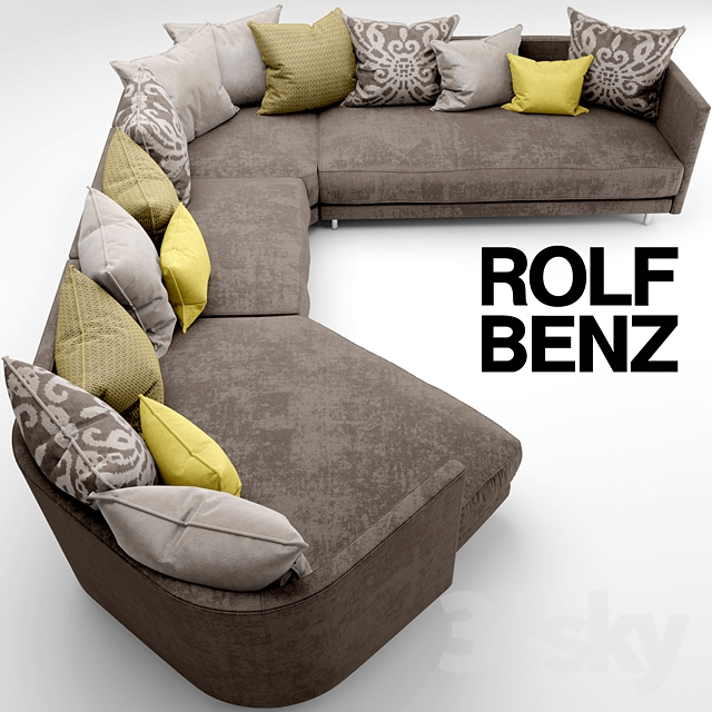 3d models sofa sofa rolf benz onda for Rolf benz ledergarnitur