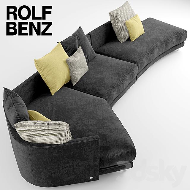 3d models sofa sofa rolf benz onda. Black Bedroom Furniture Sets. Home Design Ideas