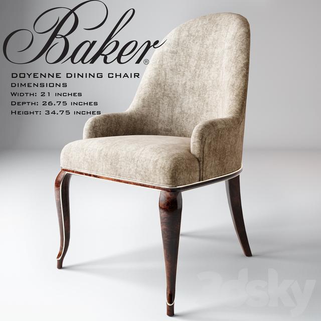 Baker / Doyenne Dining Chair