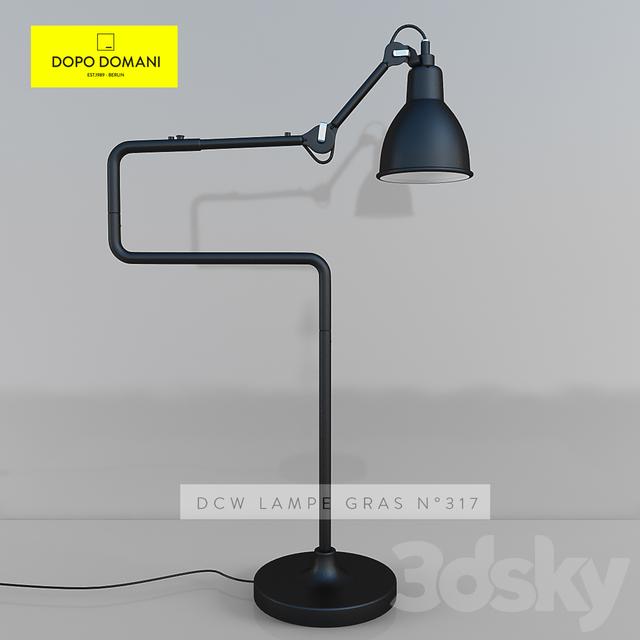 3d models: Table lamp - DCW Lampe Gras