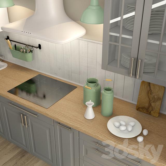 3d Models Kitchen Liding Ikea Ikea Bodbyn