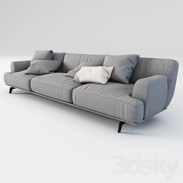 3d Models Sofa POLIFORM Tribeca