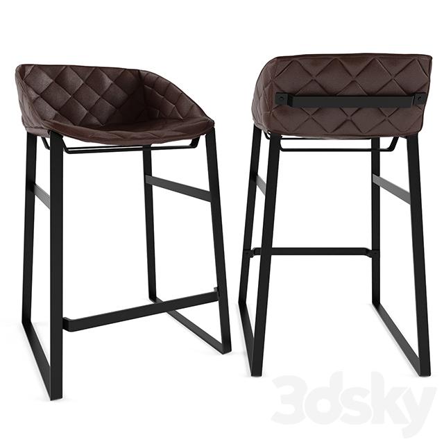 Black metal chair - 3dsmax 2014 Fbx Vray 6 58 Mb 2015 03 17 17 05 Modern Bar Kekke