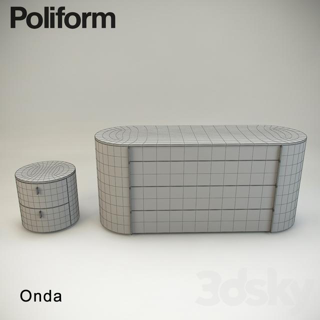3d Models Sideboard Amp Chest Of Drawer Onda