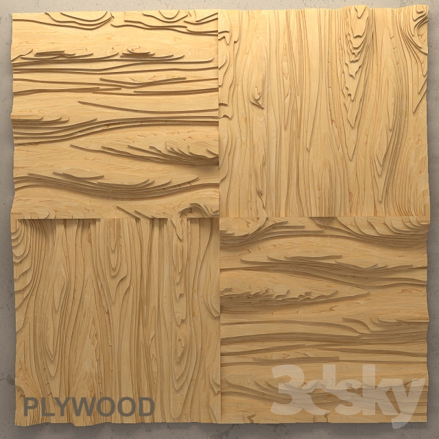 """Plywood """"Texture of the wood"""""""