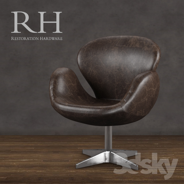 Restoration Hardware   Devon Leather Chair