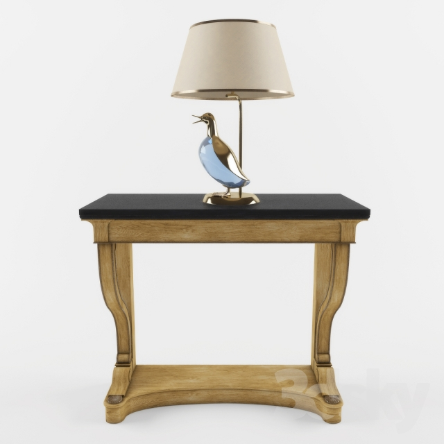 3d models: Other - Lucienne Monique lamp and console Misendemeure