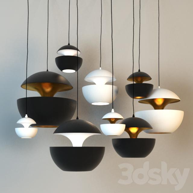 3d models ceiling light pendant lights dcw ditions. Black Bedroom Furniture Sets. Home Design Ideas
