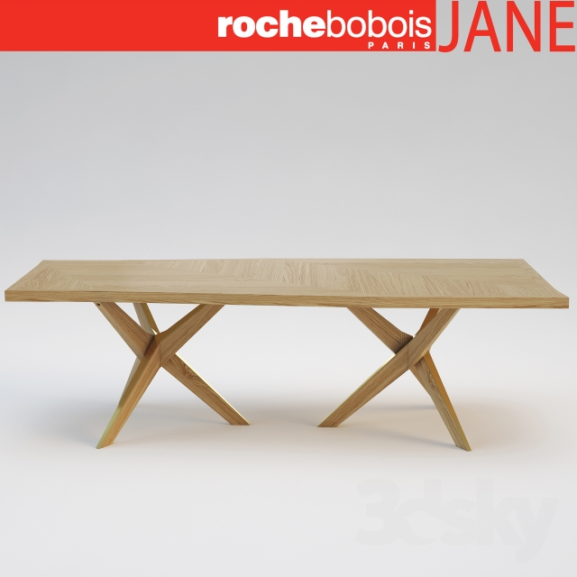3d Models Table Roche Bobois JANE Dining