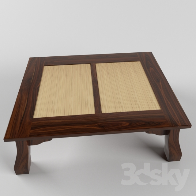 3d Models Table Tea Table