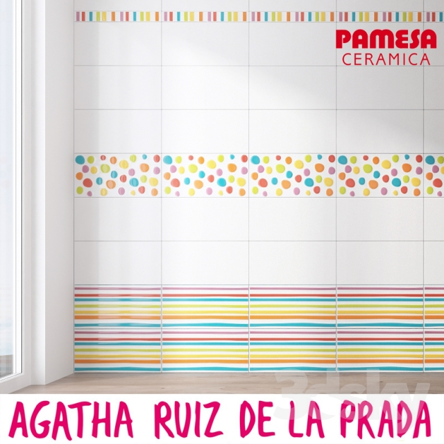 3d models bathroom accessories ceramic tile pamesa agatha. Black Bedroom Furniture Sets. Home Design Ideas