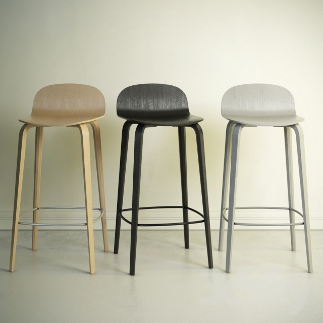 3d Models Chair Bar Stool Visu