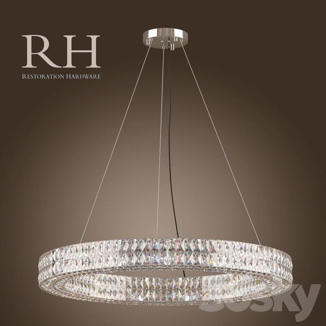 3d Models Ceiling Light Rh Spiridon Ring Chandelier 43