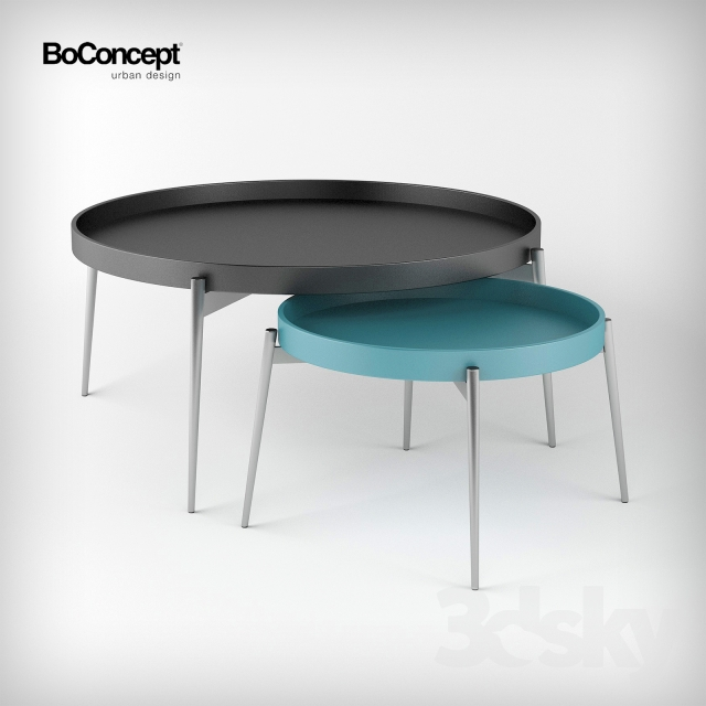 3d models table coffee table vera boconcept. Black Bedroom Furniture Sets. Home Design Ideas