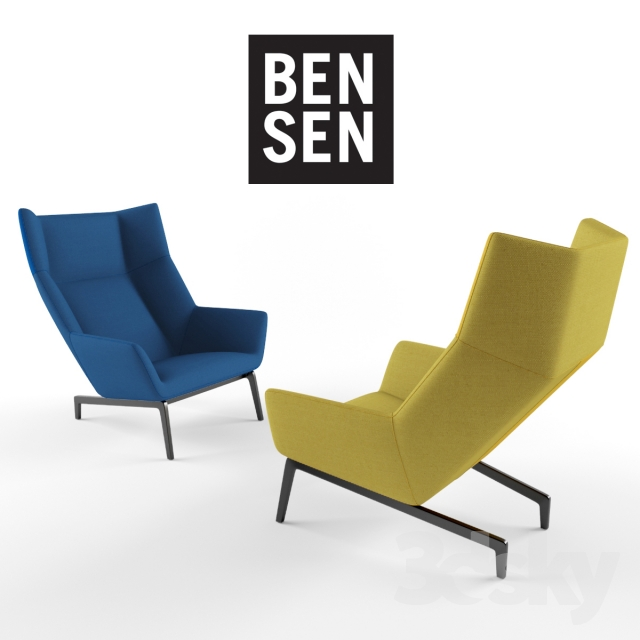 PARK CHAIR by BENSEN  sc 1 st  3DSky & 3d models: Arm chair - PARK CHAIR by BENSEN
