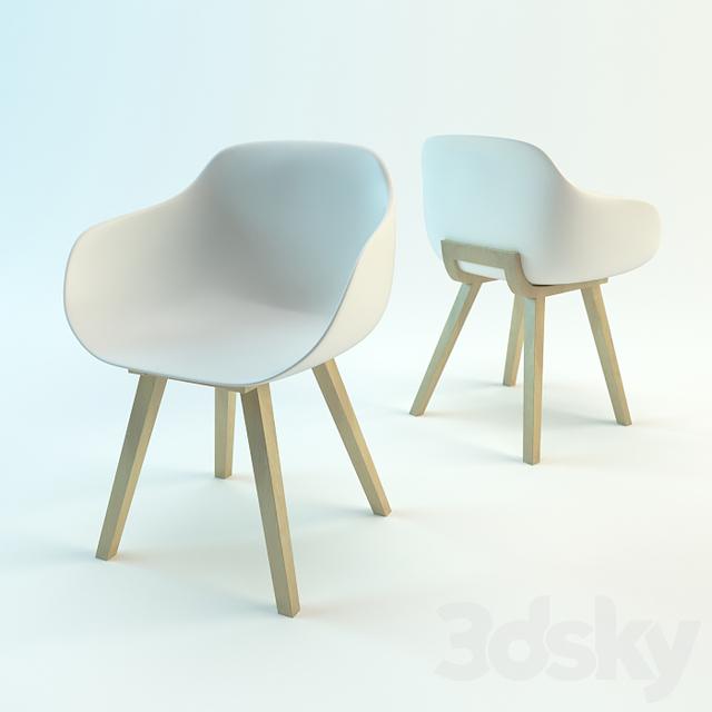 3d models: Chair - Kuskoa Bi chair by ALKI