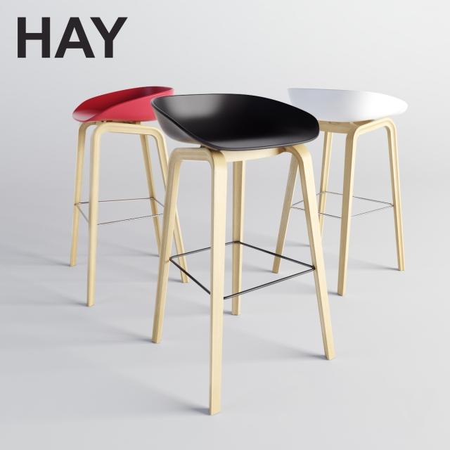 3d Models Chair Hay About A Stool Aas 38