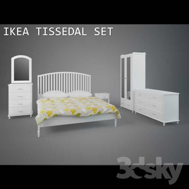3d models other ikea tissedal set for Mobili ikea 3d