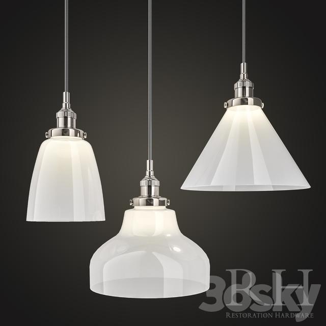 3d models ceiling light 20th c factory filament milk glass pendant 20th c factory filament milk glass pendant mozeypictures Choice Image