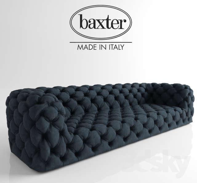 3d models sofa baxter chester moon for Chester moon baxter
