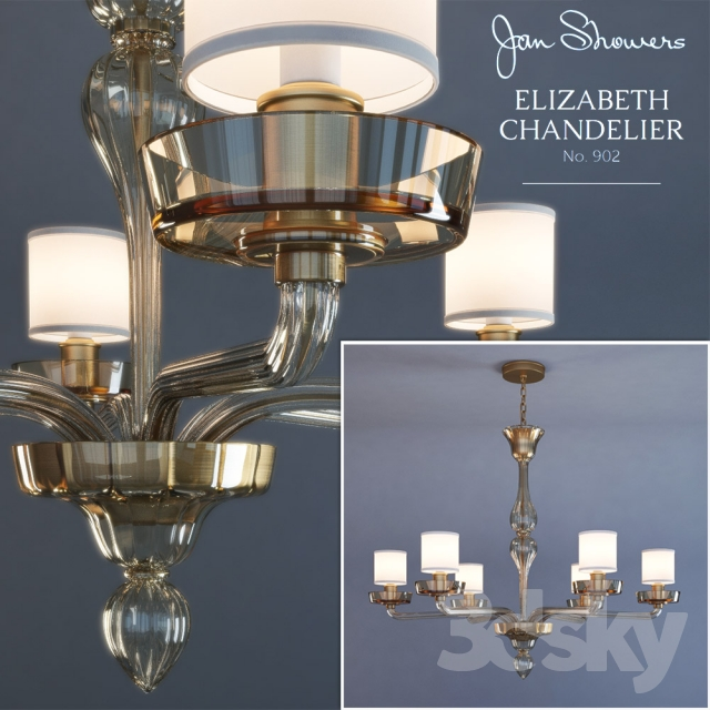 Elizabeth Chandelier Chandelier 902 by Jan Showers