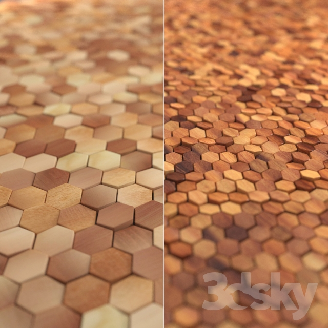 3d models other decorative objects relief wooden wall tiles
